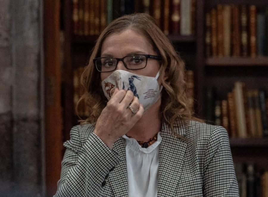 Gutiérrez Muller Condena amenazas en contra de Lilly Téllez