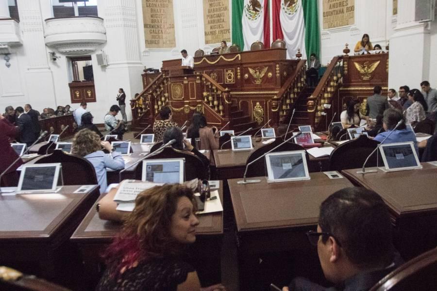 Acusan a Congreso CDMX de violar la ley al no establecer comisiones dictaminadoras