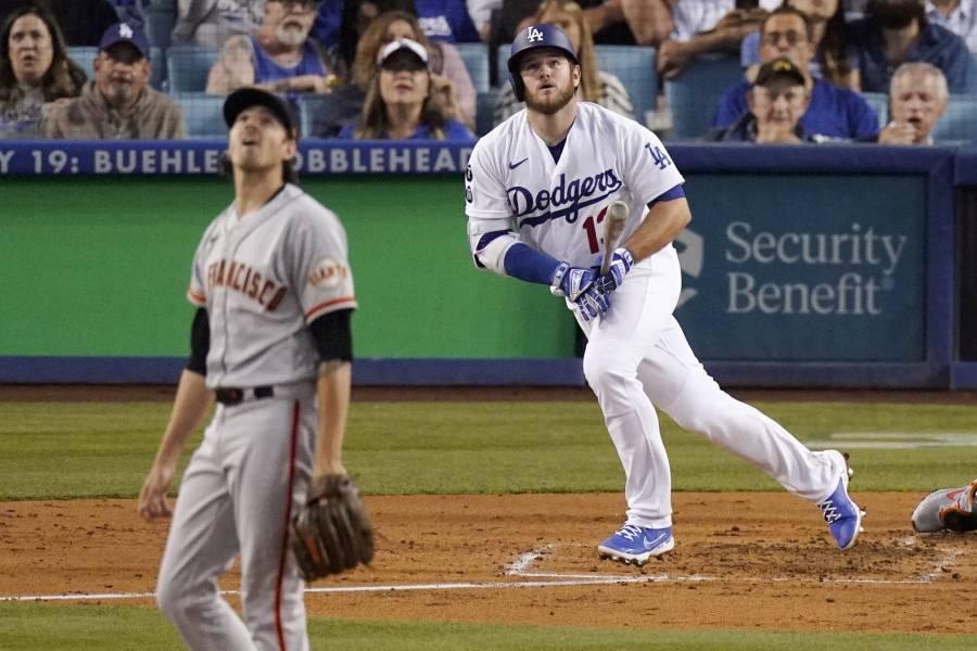 Los Dodgers y Gigantes se enfrentarán en los playoffs
