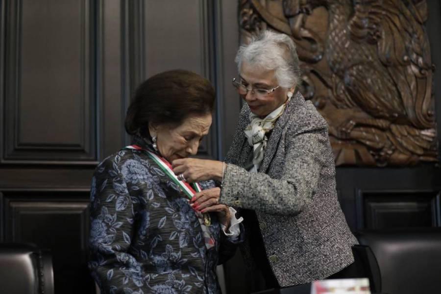 Se entrega Medalla Belisario Domínguez con ausencia de AMLO