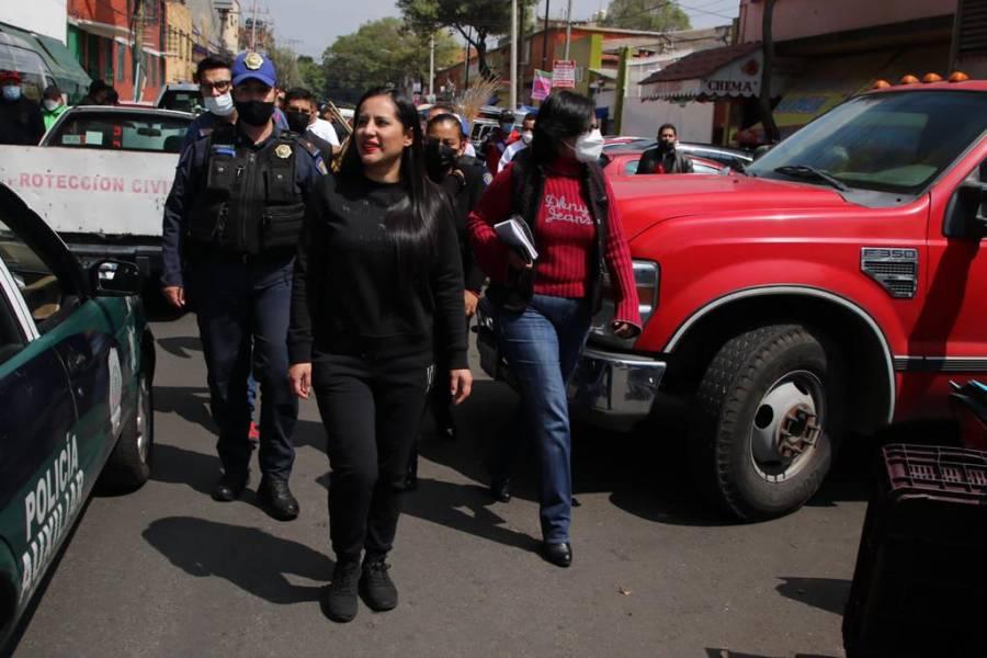 Sandra Cuevas busca formalizar a franeleros; inicia operativos en Cuauhtémoc