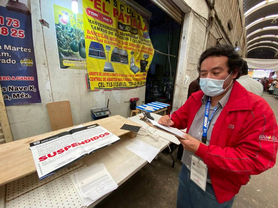 No respetaron protocolos sanitarios en Edomex: suspenden mil 783 establecimientos