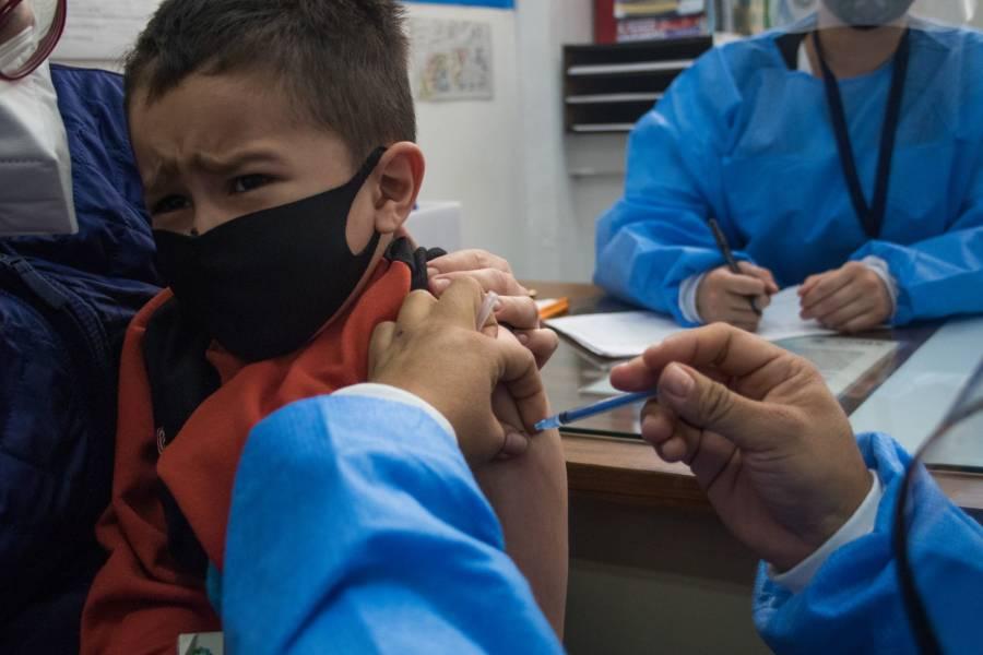 CDMX vacunaría a 200 mil menores con alguna comorbilidad