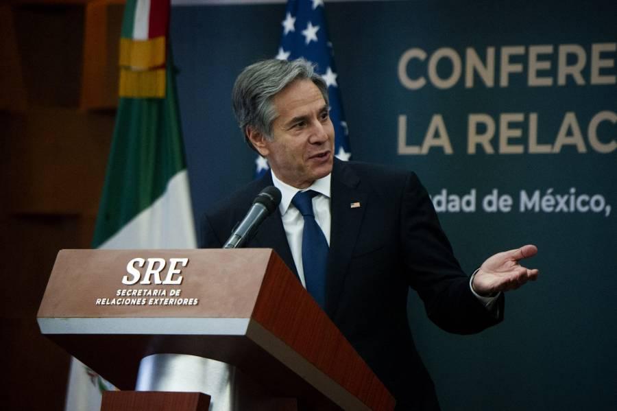 Migración, tema prioritario para México y EEUU, asegura Blinken