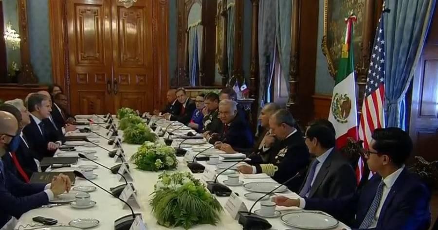 AMLO encabeza Diálogo de Alto Nivel sobre Seguridad con funcionarios de EEUU
