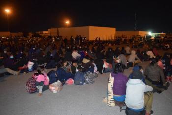 Detienen a 652 migrantes centroamericanos cerca de frontera con EEUU