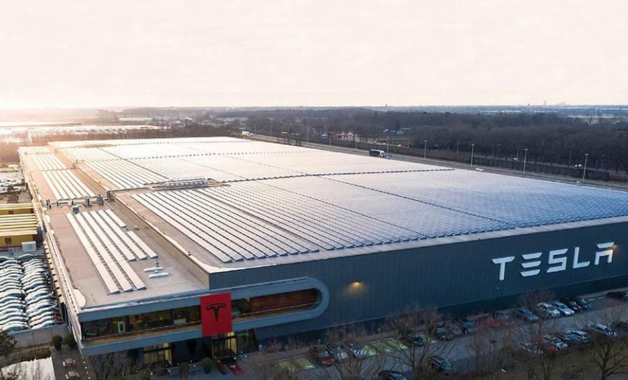 Tesla celebra en Berlín la construcción de su primera fábrica europea