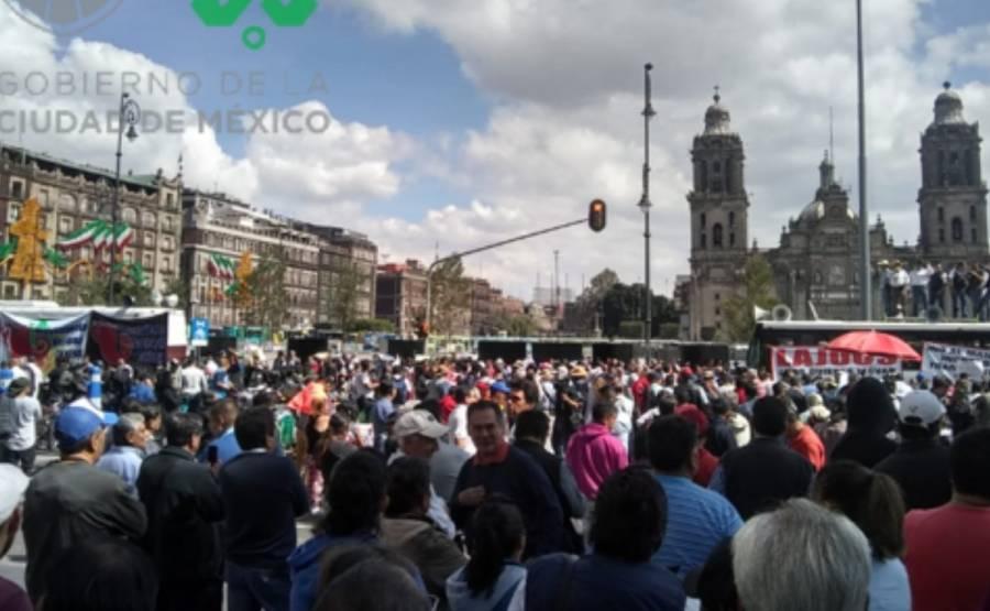 GobCDMX hace un llamado a mantener la paz en manifestaciones