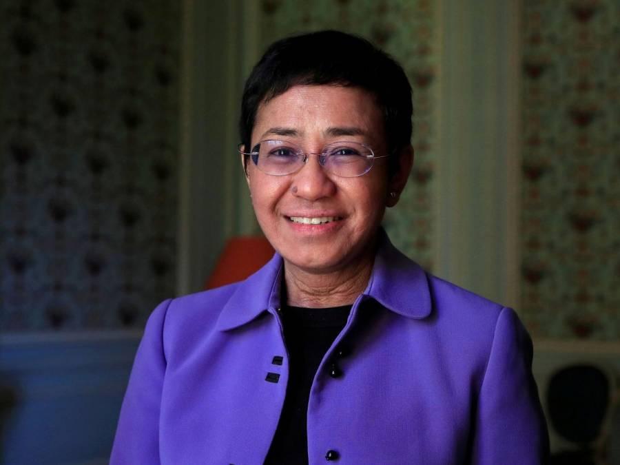 Maria Ressa dedica su Nobel de la Paz a los periodistas del mundo