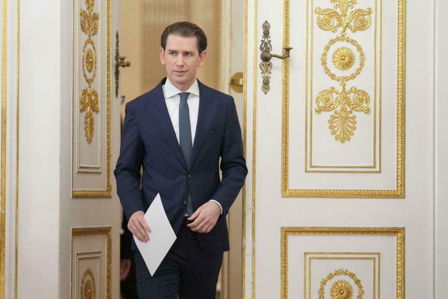 Renuncia Sebastian Kurz, canciller austríaco acusado de corrupción