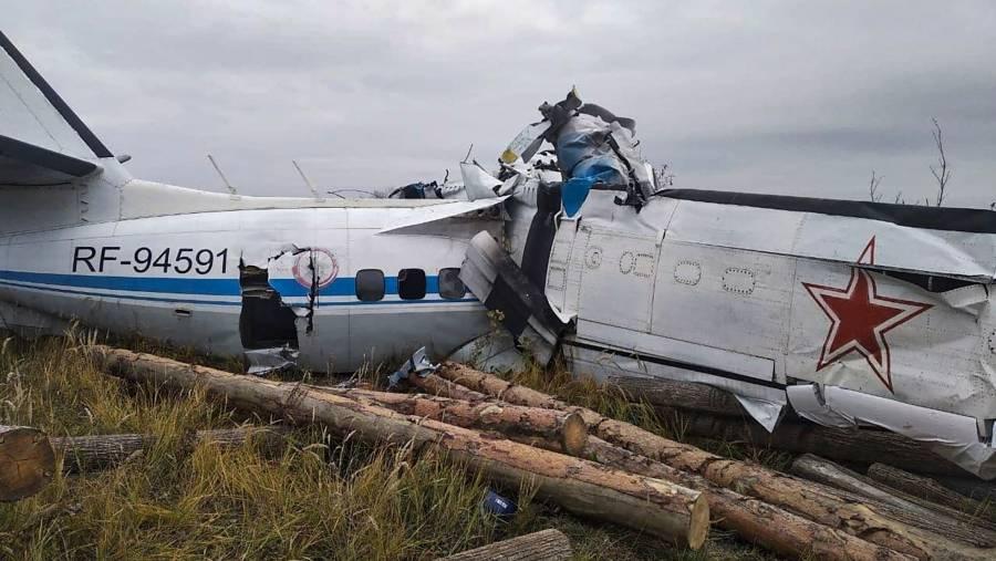En Rusia accidente aérea deja al menos 16 muertos