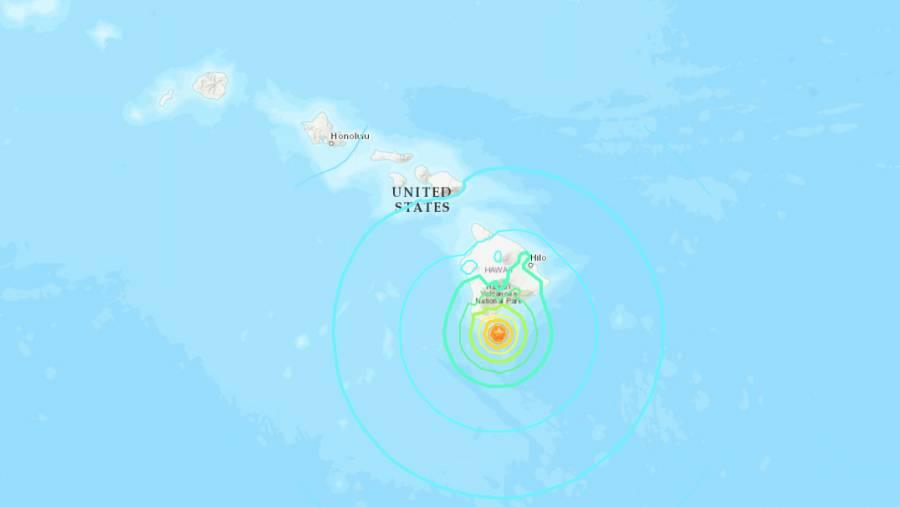Sismos sacuden Isla Grande de Hawaii