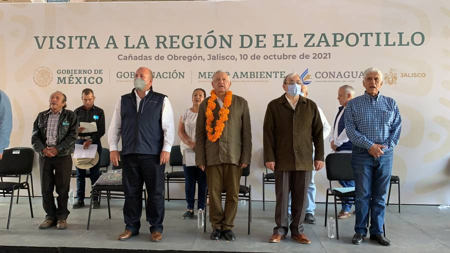 AMLO pide respeto para Enrique Alfaro al ser abucheado