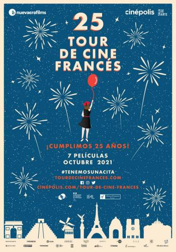 Tour de Cine Francés celebra 25 años