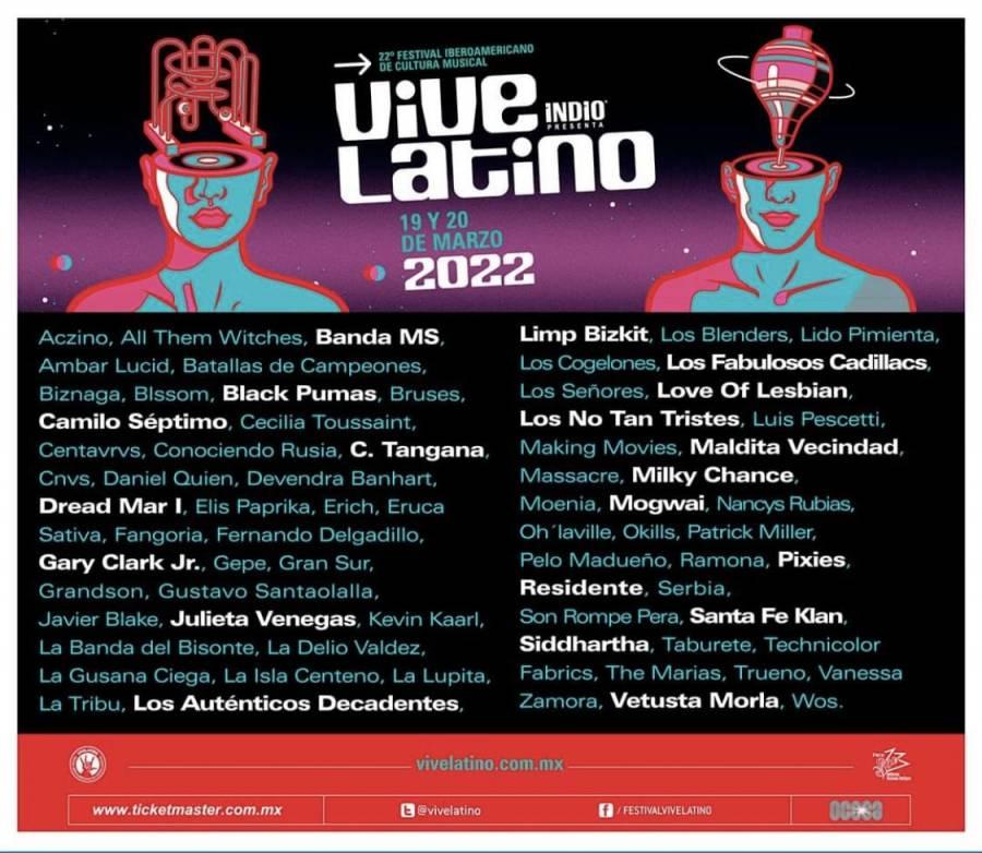 ¡Vive Latino! 22 años del más importante festival Iberoamericano de Cultura Musical