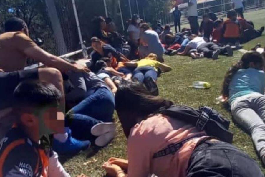 Partido de futbol infantil es interrumpido por balacera en Zacatecas; mueren 4 policías