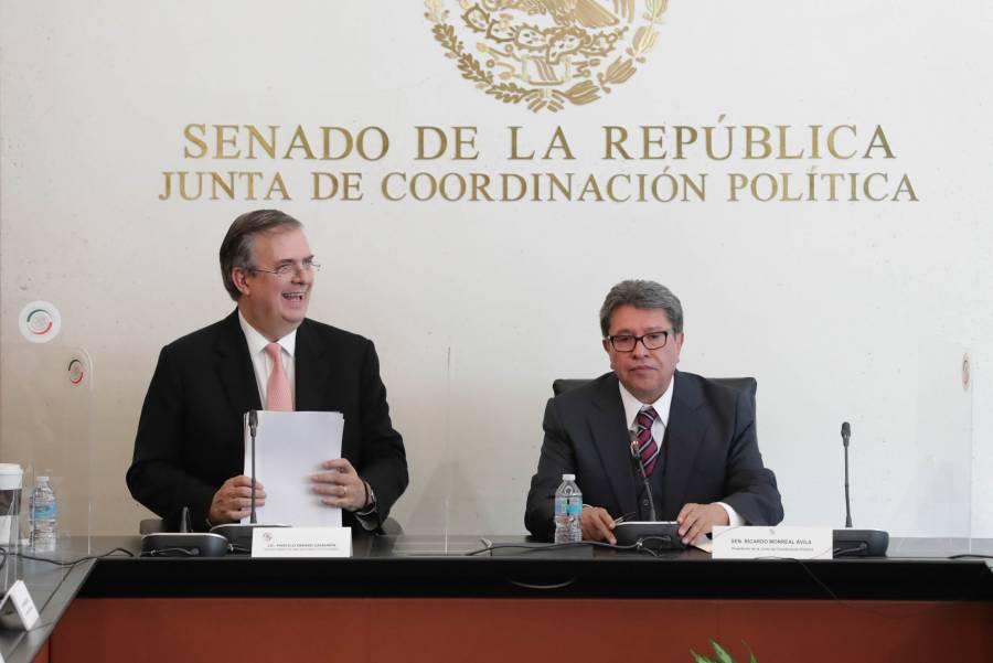 Entendimiento Bicentenario pone el desarrollo como centro de la pacificación: Monreal