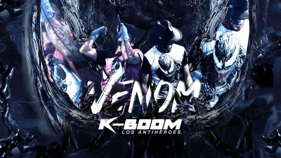El simbionte de Venom se fusiona con la música en la nueva canción de KBoom Los Antihéroes