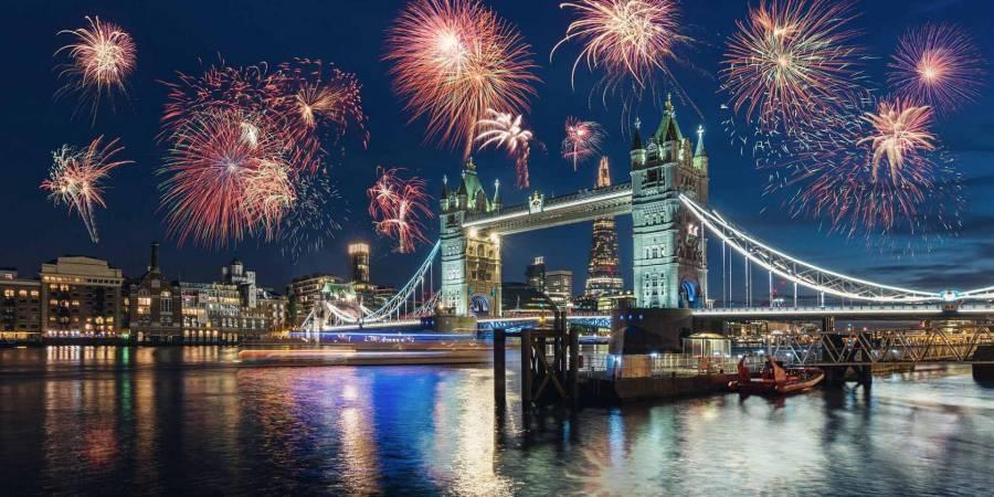 Londres cancela fuegos artificiales de Año Nuevo por pandemia