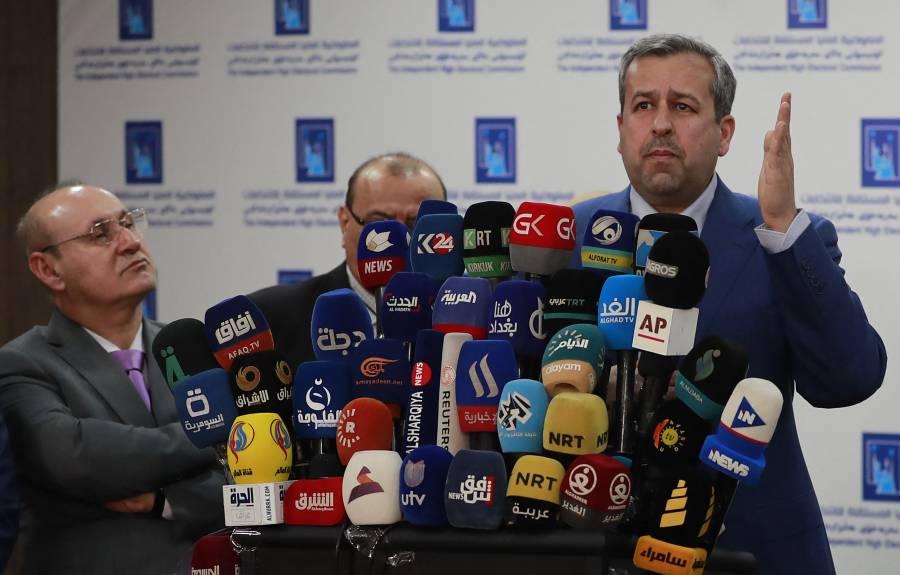 """Denuncian """"fraude"""" partidos iraquíes pro-Irán"""