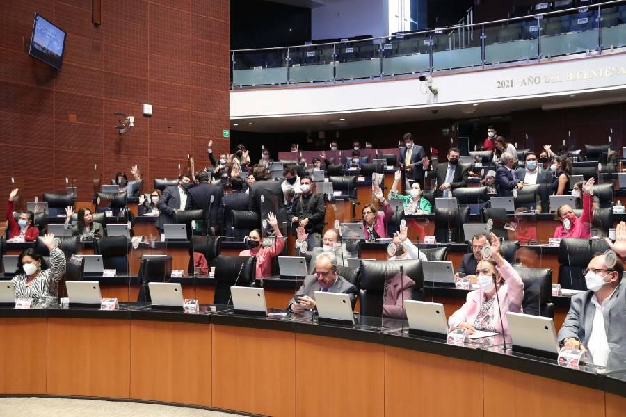 Avalan inscribir con letras doradas Centenario de la creación de la SEP en el Senado