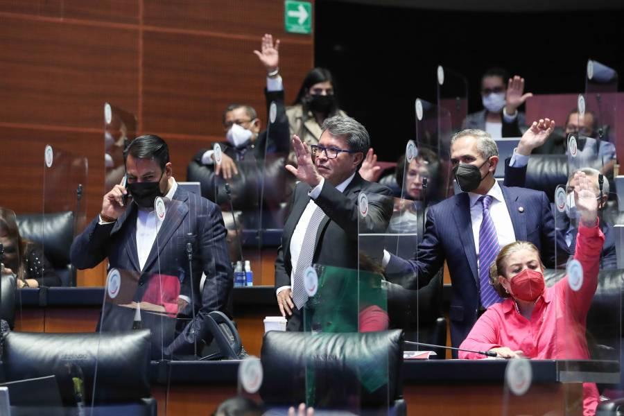 Senado exige al INE apegarse a la ley de revocación de mandato