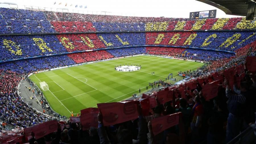 El Camp Nou podrá albergar 100% de público para Champions y clásico