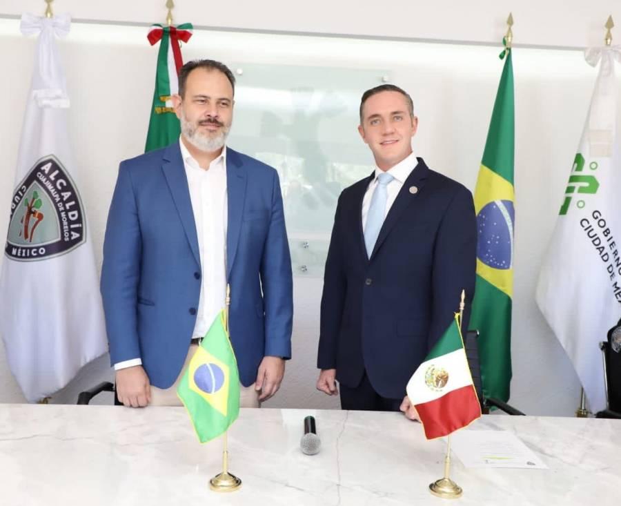 Vicealcalde de Porto Alegre, Brasil visita Cuajimalpa