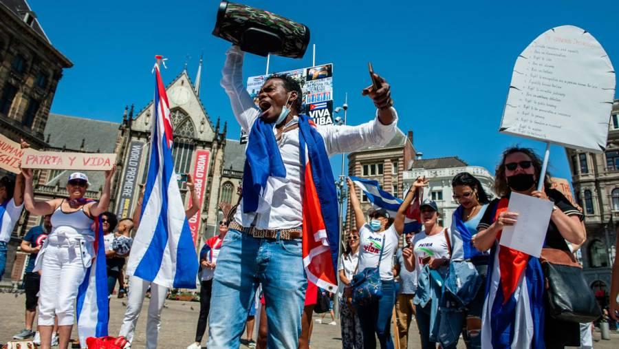 EEUU pide al gobierno de Cuba