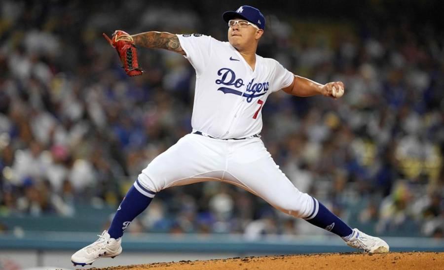 El mexicano Julio Urías no abrirá con Los Ángeles Dodgers