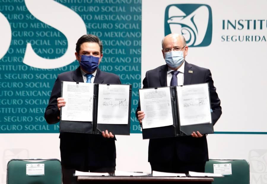 IMSS y SNTSS firman Contrato Colectivo de Trabajo 2021-2023