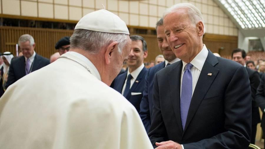 El papa Francisco recibirá a Joe Biden el 29 de octubre