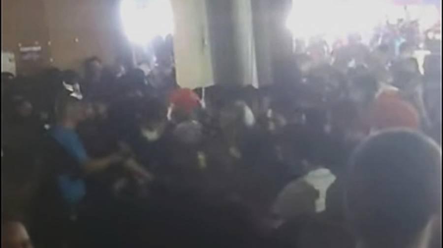 Riña provoca estampida en expo de Guadalupe, Nuevo León