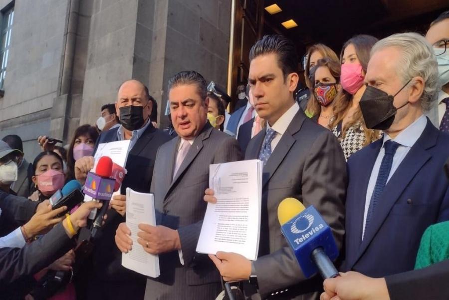 Presenta Va por México recurso de inconstitucionalidad en SCJN contra revocación de mandato