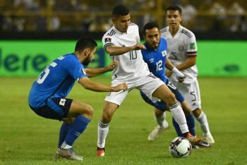 México se afianza en liderato de eliminatoria de la Concacaf al vencer a El Salvador