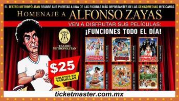 Alfonso Zayas, su comicidad y albur regresan a la pantalla grande