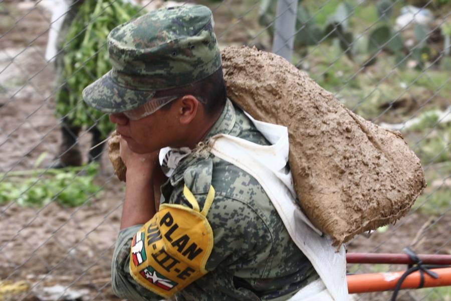 """Tras paso de """"Pamela"""" aplican el plan DNIII-E en Sinaloa, Durango y Nayarit"""