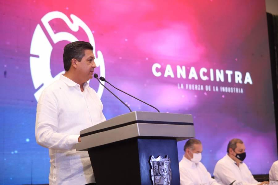 GOAN destaca la confianza y seguridad en reunión de CANACINTRA en Tamaulipas