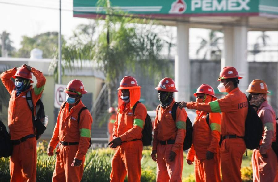 CATEM y CTM se deslindan de protestas en refinería Dos Bocas