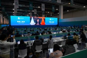 En China termina la primera parte de la COP15
