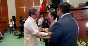 """Presidenciables coinciden: """"Yo te busco"""", dice Ricardo Monreal a Claudia Sheinbaum"""