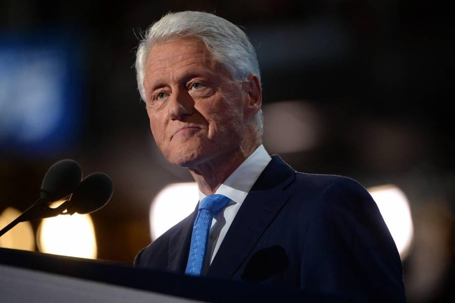 Tras infección, Bill Clinton evoluciona favorablemente