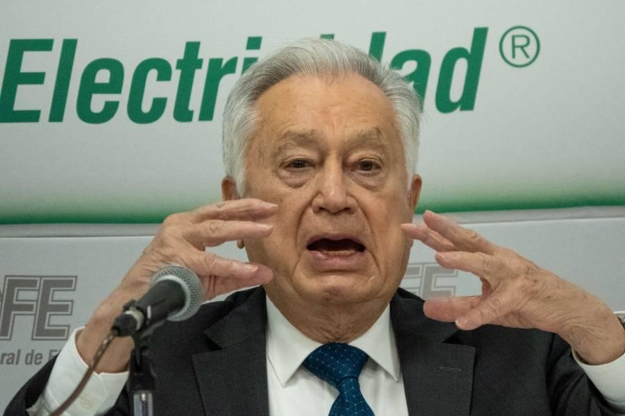 De aprobarse la reforma energética se van a cancelar los contratos con empresas privadas : Manuel Bartlett