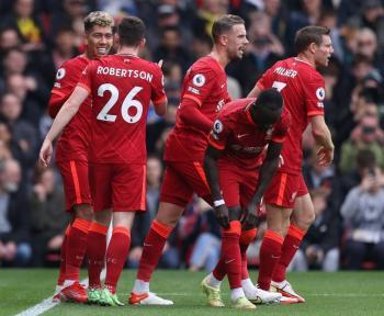 El tridente del Liverpool fulmina al Watford en la Premier League