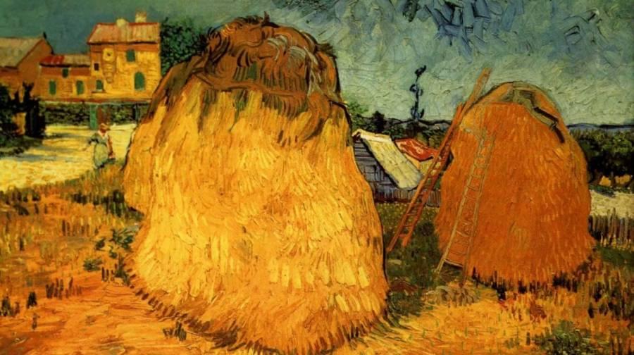 Pintura Meules de Blé de Van Gogh, será subastada en Nueva York