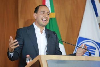 """El discurso de AMLO sobre no endeudar al país """"es otro engaño más"""": Marko Cortés"""
