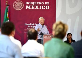 Segundo piso de servicio gratuito en Tijuana conectará con Aeropuerto a Rosarito, anuncia AMLO