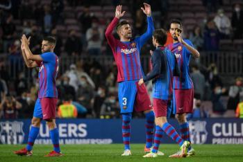 El Barcelona vence al Valencia 3-1