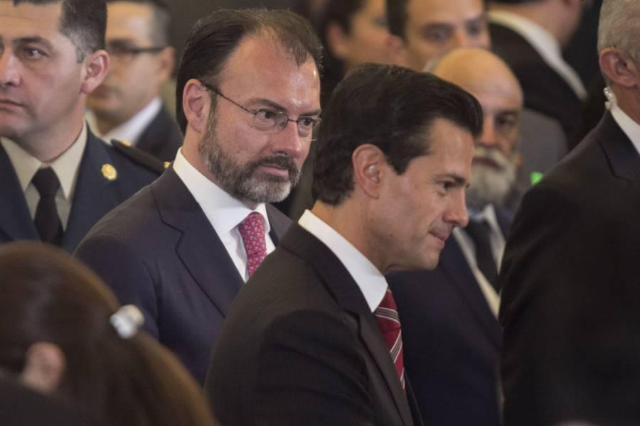 FGR tras la pista de Peña Nieto, Videgaray y Anaya por delincuencia organizada