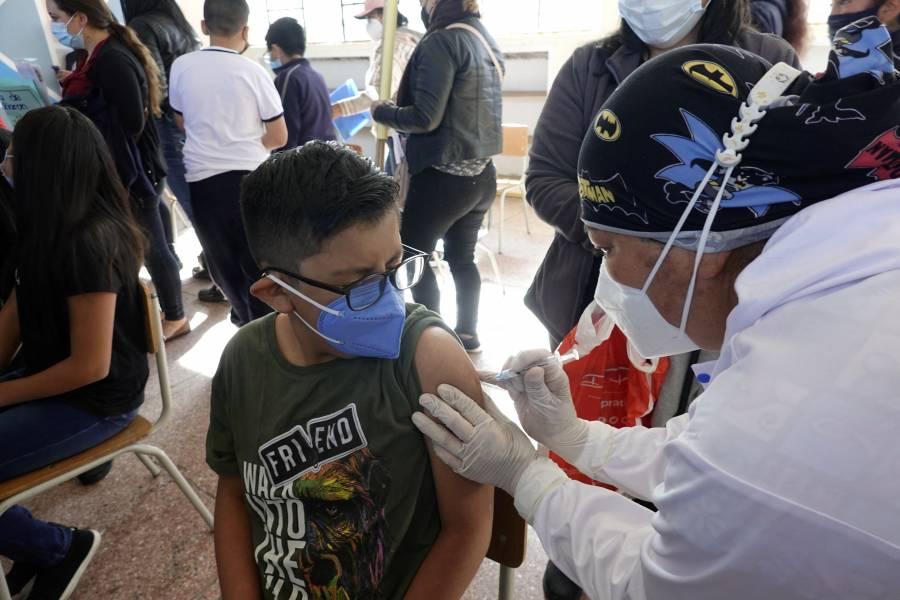 Ecuador vacuna contra Covid-19 a niños de cinco a once años